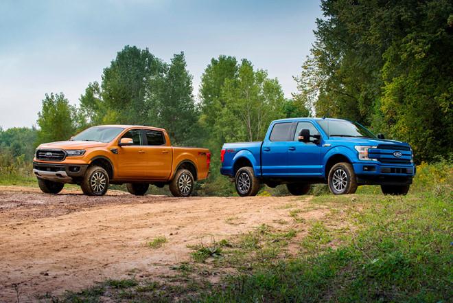 vua bán tải Ford Ranger